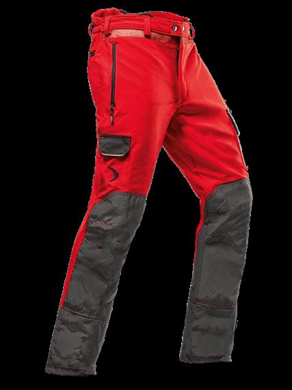 Pfanner ARBORIST Schnittschutzhose Typ A rot, normal - Grösse M