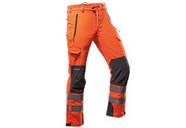 Pfanner GLADIATOR Outdoorhose verstärkt EN 20471 orange, normal