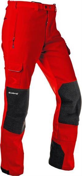 Pfanner GLADIATOR Outdoorhose verstärkt rot, norma - Grösse S