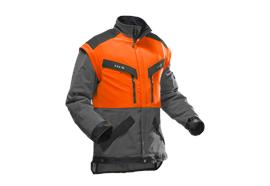 Pfanner KlimaAir FORSTJACKE, orange/grau