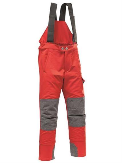 Pfanner MAXIMUS Kinder-Outdoorhose rot - Grösse 140