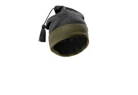 Pfanner Merino Thermolite Funktionszipfelmütze, schwarz/waldgrün
