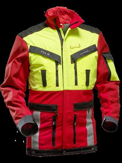 Pfanner NACHSUCHE Jacke gelb/rot - Grösse XS