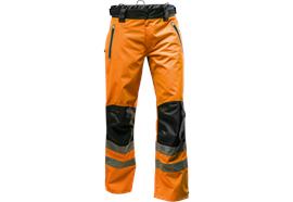Pfanner NANOSHIELD Regenhose EN 20471 orange - Grösse XS