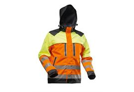 Pfanner NANOSHIELD Regenjacke EN20471 gelb/orange