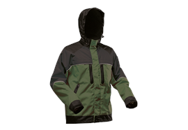 Pfanner NANOSHIELD Regenjacke grün/schwarz - Grösse L