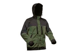 Pfanner NANOSHIELD Regenjacke grün/schwarz - Grösse XL