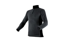 Pfanner Stretch Air HUSKY Shirt grau - Grösse XXL Übergrösse