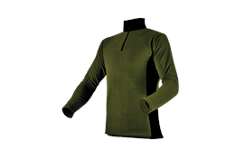 Pfanner Stretch Air HUSKY Shirt waldgrün - Grösse S