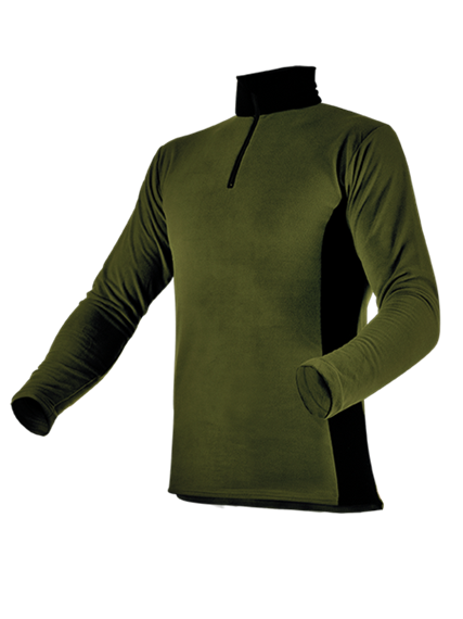 Pfanner Stretch Air HUSKY Shirt waldgrün - Grösse XXL Übergrösse