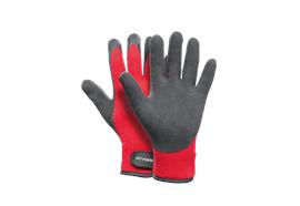 Pfanner STRETCHFLEX ICE GRIP Handschuhe schwarz/rot - Grösse 9/L