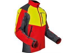 Pfanner VENTILATION Jacke gelb/rot - Grösse 3XL Übergrössen