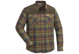 Pinewood DOUGLAS Hemd, Olive/Terracotta