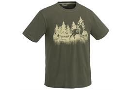 Pinewood Hunting Herren T-SHIRT Green - Grösse XL