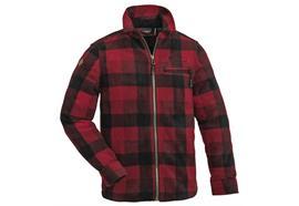 Pinewood KIDS Fleece Shirt Kanada, Red/Black
