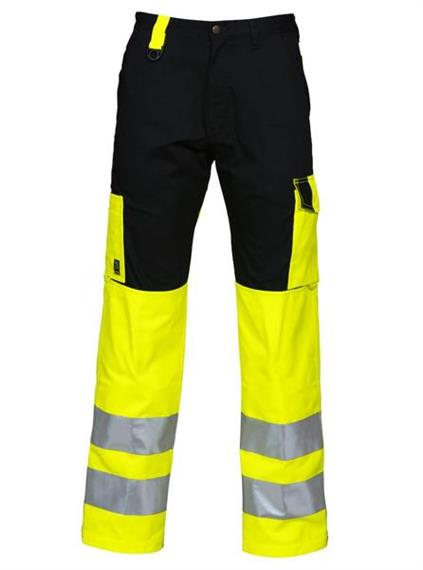 PROJOB Pants HV Yellow-black EN 20471 - Grösse 58