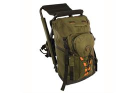 STABILOTHERM Backpack w. stool PEAK grün