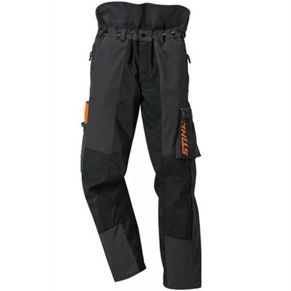 Stihl ADVANCE Bundhose stretch anthrazit orange 58