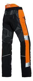 Stihl ADVANCE X-TREEM Bundhose schwarz/orange - Grösse XS | Bild 2