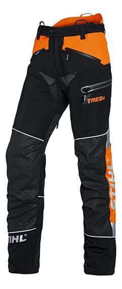 Stihl ADVANCE X-TREEM Bundhose schwarz/orange - Grösse XS