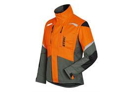Stihl FUNCTION ERGO Jacke grün/orange - Grösse XL