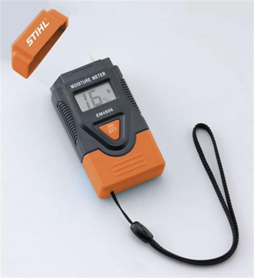 Stihl Holzfeuchtigkeits-Messgerät LCD Anzeige inkl. Batterien