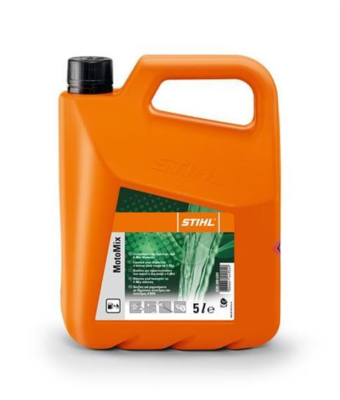 Stihl MotoMix 2-Takt Vorgemischter Kraftstoff 5 L Einwegkanister orange
