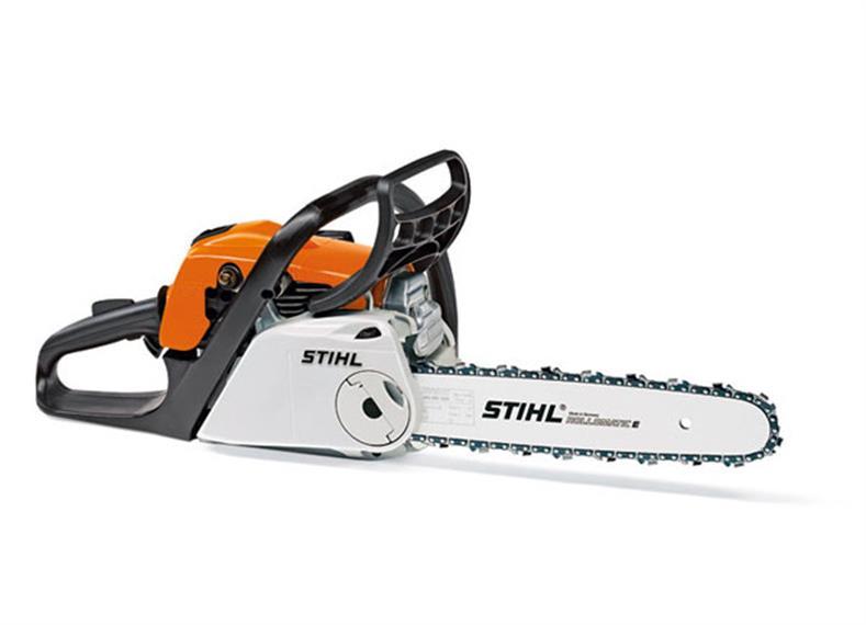 Stihl MS 211 C-BE Motorsäge mit Kettenschnellspannung und ErgoStart Schwertlänge 35 cm