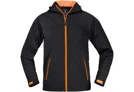 Texstar WINDBREAKER JACKET schwarz/orange