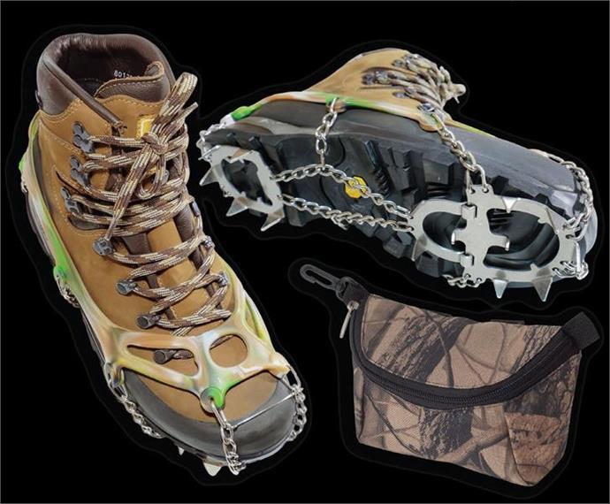 VERIGA CAMOUFLAGE Schuheisen - Grösse XL für Bergschuhe bis Gr. 43-44.5