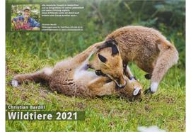 Wildtierkalender 2021 by Christian Bardill