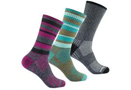 WRIGHTSOCK Adventure crew brown/teal