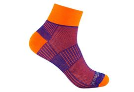 WRIGHTSOCK COOLMESH ll royal/orange