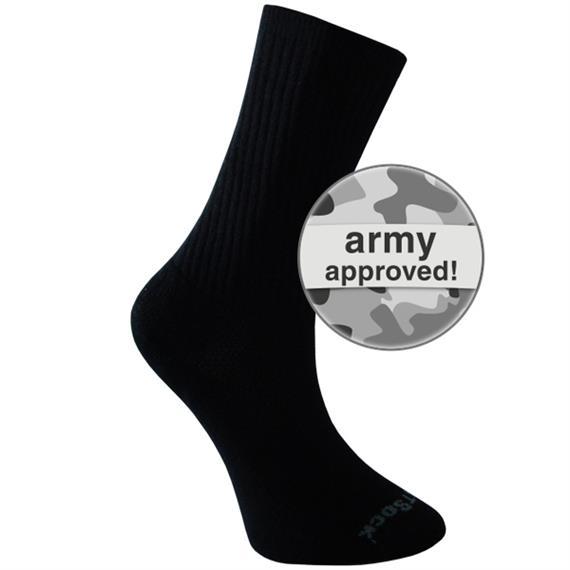 WRIGHTSOCK SILVER ESCAPE black army - Grösse L 42-45